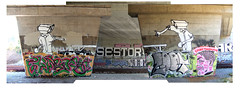 CCTV (seeseeTV) Tags: sf bridge table graffiti san francisco tennis wc loot graff ping pong chubs dole 08 chue toke reks silencer loote tunks sestor