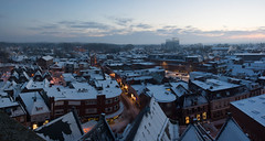 Blik op het oosten (Bert (A.H.) Roos) Tags: morning snow nature weather sneeuw thenetherlands natuur morgen ochtend weer gelderland barneveld