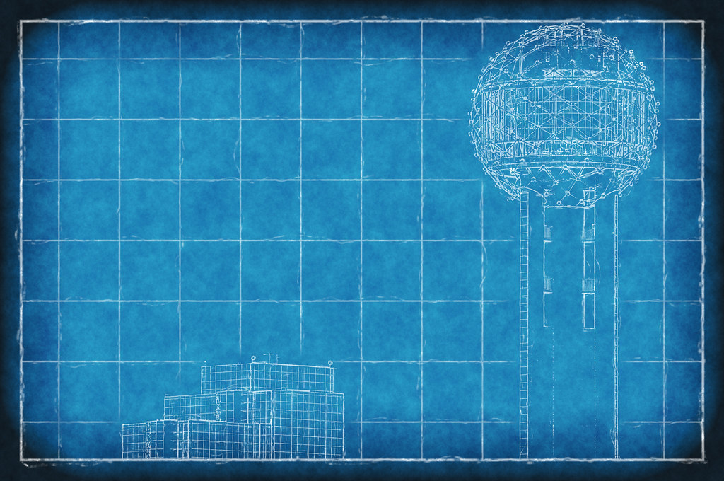 The worlds most recently posted photos of blueprint and dallas hyatt regency hotel blueprint dallas texas reunion tower architecture roa772r david kozlowski tags malvernweather Gallery