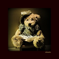 Granny Bear (ottosohn) Tags: grandma stilllife stuffedtoy cute hat germany toy snuggle glasses stillleben artwork hug hut teddybear frame oma brille granny spectacles cosy bricabrac cuddlytoy softtoy teddybr kuscheltier artstyle homestudio dekoration fluffytoy kuscheln plushbear ladybear knuffig plschbr liebhaben trynka ottosohn mygearandme mygearandmepremium mygearandmebronze mygearandmesilver mygearandmegold grannybear mygearandmeplatinum mygearandmediamond bukowskidesign rememberthatmomentlevel1 vigilantphotographersunite brendame brenomi