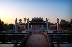 Hoi An Temple Sunset (William J H Leonard) Tags: city sunset urban asian temple town asia southeastasia vietnamese sundown dusk buddhist traditional colonial chinese citylife sunny buddhism vietnam clear hoian buddhisttemple citycentre hdr highdynamicrange southeastasian southernvietnam earthasia