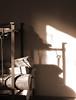 Interior Sepia Woodrack (treehuggerdcg) Tags: wood shadow iron poker rightangle odc forgediron woodrack utatafeature utata:description=hide kootenayforge utata:project=sepiainterior