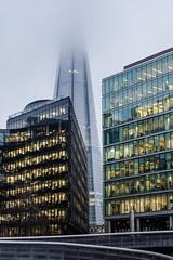 Into The Mist (Suggsy69) Tags: mist london misty buildings nikon shard theshard d5100
