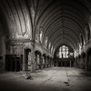 A Threatened Legacy: Epilogue | Study VI (Jeff Gaydash) Tags: blackandwhite church saint square decay detroit agnes legacy threatened