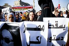 Women against Morsy (Gigi Ibrahim) Tags: march women egypt hijab niqab shubra jan25 morsy ikhwan revsoc