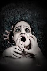 Gender Violence part2 (thecolorway) Tags: dark hands darkness fear violence gender burden shortness horro
