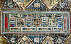 Piccolomini Library (Bruce Livingston) Tags: italy ceiling tuscany siena duomo fresco duomodisiena piccolominilibrary nikond700 nikon24mmf35pcetiltshift