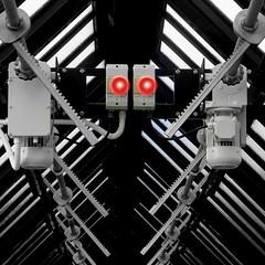 Eye Robot (douglas.anthony50) Tags: flowers glass gardens buildings robot glasgow victorian castiron botanic streetfurniture mystic animatedgifs visualjoke