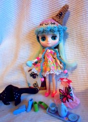 {Happy sweet mail days} (Heather missypixie ) Tags: cute dolls icecream kawaii collecting thethinkingdoll blythemiddie kawaiikandy marvamarshmallow