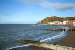 Aberystwyth 2013 (Minoltakid) Tags: wales buildings seaside day westwales aberystwyth ceredigion constitutionhill welshcoast colourfulbuildings welshseaside seasidecolours minoltakid theminoltakid pwpartlycloudy