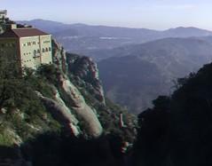 Monestir de Montserrat 3D photo (anaglyph) (Stereomania) Tags: de stereoscopic stereophoto stereophotography 3d spain anaglyph stereo montserrat stereoview klooster spanje 2012 espagna monestry monestir abdij catalonie catluna