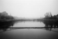 bridge (Lazer.sommerville) Tags: street bridge blackandwhite water river streetphotography