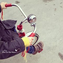 Triciclo (Tea on the moon  begoa ) Tags: vintage bicicleta nio triciclo