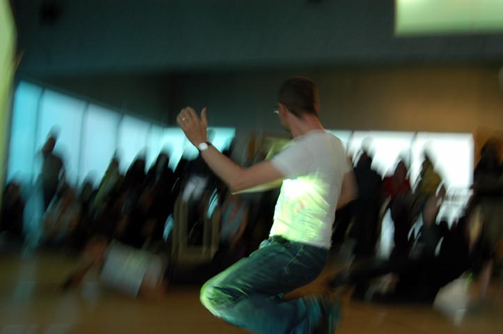 Performer Matt Adams