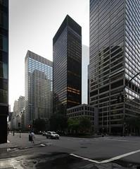 Seagram Building (schromann) Tags: park new york city building johnson van avenue der monolith ludwig mies philip seagram rohe 20120727