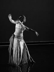 Katrina (BryanBowman) Tags: white black photography bellydance