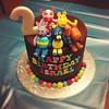 Backyardigans cake (sugar*baking) Tags: cake square squareformat rise fondant backyardigans iphoneography instagramapp uploaded:by=instagram