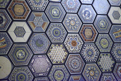 Tile in Figueroa Hotel (Sam Howzit) Tags: california 1920s tile losangeles lobby decor moroccan hotelfigueroa