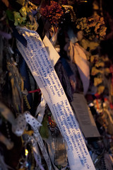 Cross Bones Graveyard - 5 (Paulo Dykes) Tags: graveyard ribbons gates vigil prostitutes southwark burialground johnconstable theborough crossbonesgraveyard redcrossway graverobber bishopofwinchester winchestergeese resurrectionmen unconsecratedgraveyard libertyoftheclink