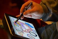 Praying in Color (MTSOfan) Tags: love church colors creativity book technology hand drawing faith prayer devotion stylus doodling lent godislove ipad prayingincolor spiritualdiscipline