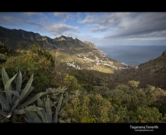 Taganana, Tenerife (esslingerphoto.com) Tags: ocean parque sea mountains water clouds rural canon de landscape island photography eos coast spain europe exposure shot single tenerife 5d canary canaries mkii islascanarias anaga taganana esslinger centryplant esslingerphotocom