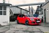 The new one! (Keno Zache) Tags: red cloud black car sport 30 vw canon germany golf photography eos hp power photoshoot 5 gti edition 230 19 luxury sportcar keno rline eibach 400d zache