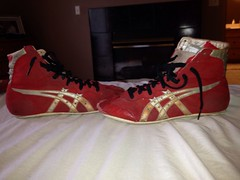 ASIC Tigers (brockdanko) Tags: red 8 9 size tigers asics 95 85 asic size9 size95