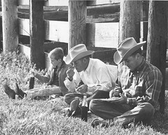 Sunday barbecue at the Albertson Ranch (ConejoThruTheLens) Tags: cowboys cattle geralddavis conejothroughthelens albertsonranch