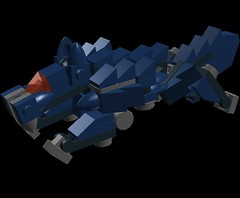 Fenrir (NimbusConflict) Tags: lego finalfantasy mecha mech moc microscale mechaton mfz mf0 mobileframezero