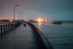 amble evening (Ray Byrne) Tags: wet rain evening pier jetty northumberland amble darkening raybyrne byrneoutcouk webnorthcouk