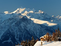 Mischabel (Gnu.ch) Tags: winter mountain snow alps landscape lumix switzerland panasonic berge alpine landschaft fz200