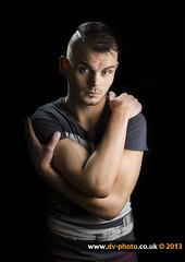 Reece (vaughaag) Tags: portrait male model sony flash 400 pixel gemini f28 ssm a77 opas bowens 1650 strobist hvl 43am yn560 f43am yn560ii