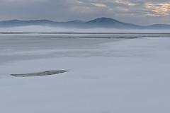 Cerkniko jezero (happy.apple) Tags: winter snow ice fog landscape geotagged led slovenia slovenija zima sneg megla cerknicalake cerknikojezero intermittentlake presihajoejezero