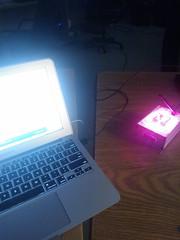 Programming a myki prototype from SAIKOLED