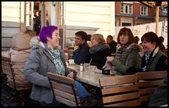 Purple (Jan Herremans) Tags: uk london purple market candid coventgarden janherremans