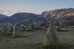 Sunrise over Castlerigg Stone Circle(7) (Walks in Dreams) Tags: england cloud mountains sunrise walking landscape ancient lakedistrict cumbria sacred mysterious mystical keswick pagan stonecircle standingstone castleriggstonecircle kevincjpoole