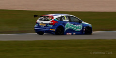 Ford Focus ST MKIII (Matthew Turk) Tags: ford st focus racing donnington mat jacksons btcc airwaves mkiii
