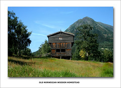 Old Norwegian Homestead (zenman3) Tags: mountains norway canon landscapes scenery 2006 canondigitalrebelxt scandinavianvacation