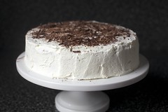 with chocolate shavings (smitten) Tags: baking chocolate macaroon hazelnut layercake torte