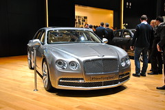 New Benltey FlyingSpur (Genve1) Tags: auto show car switzerland geneva rollsroyce autoshow automotive international salon rolls premiere bugatti genve lamborghini royce bentley supercars veyron pagani spotter
