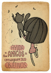 Amigos (Anita Mejia) Tags: pink cute girl illustration pen ink cat reading sketch cartoon kitty books seuss read doodle kawaii vacaciones comicdiary chocolatita anitamejia