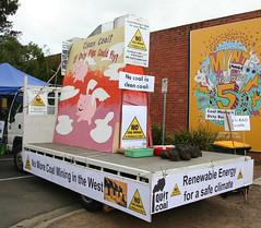 20130324_9530 Clean Coal float (williewonker) Tags: australia victoria werribee wyndham weerama nocoal