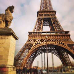 Eiffel Tower (OnaMissionMedia) Tags: square squareformat mayfair iphoneography instagramapp uploaded:by=instagram