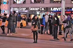 Times Square fashion (3) (zaxouzo) Tags: people newyork fashion night timessquare k5000 2013 nikond90