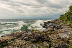 Superior Curl (NightSkyMN) Tags: water minnesota waves greatlakes curl tofte lakesuperiorcookcounty