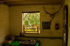 The Garden Room (williamrandle) Tags: croftcastle gardenroom window ornate light skulls summer uk 2016 welshmarches indoor nikon d7100 tamron2470f28vc