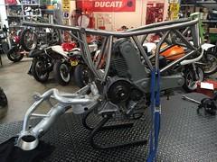 022 (REDMAXSPEEDSHOP.COM) Tags: mh900e ducati titanium frame carbon body redmax cafe racer