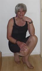 dress from (Dafnetv) Tags: tranvestite