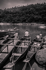 (Manabika) Tags: assam northeastindia shillong meghalaya river dawki umngot fishing stones clouds fishermen ropes journey nature