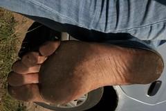 dirty city feet 329 (dirtyfeet6811) Tags: feet soles barefoot dirtyfeet dirtysoles blacksoles cityfeet
